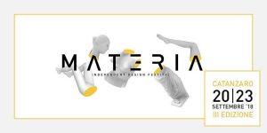 September 20-23 – Materia Independent Design Festival 2018